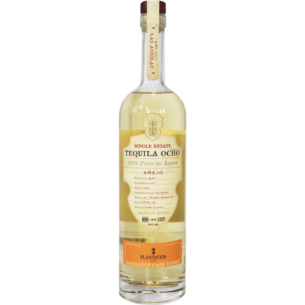 Product Image - Ocho Anejo 2017 - Barbados Rum Cask Finish