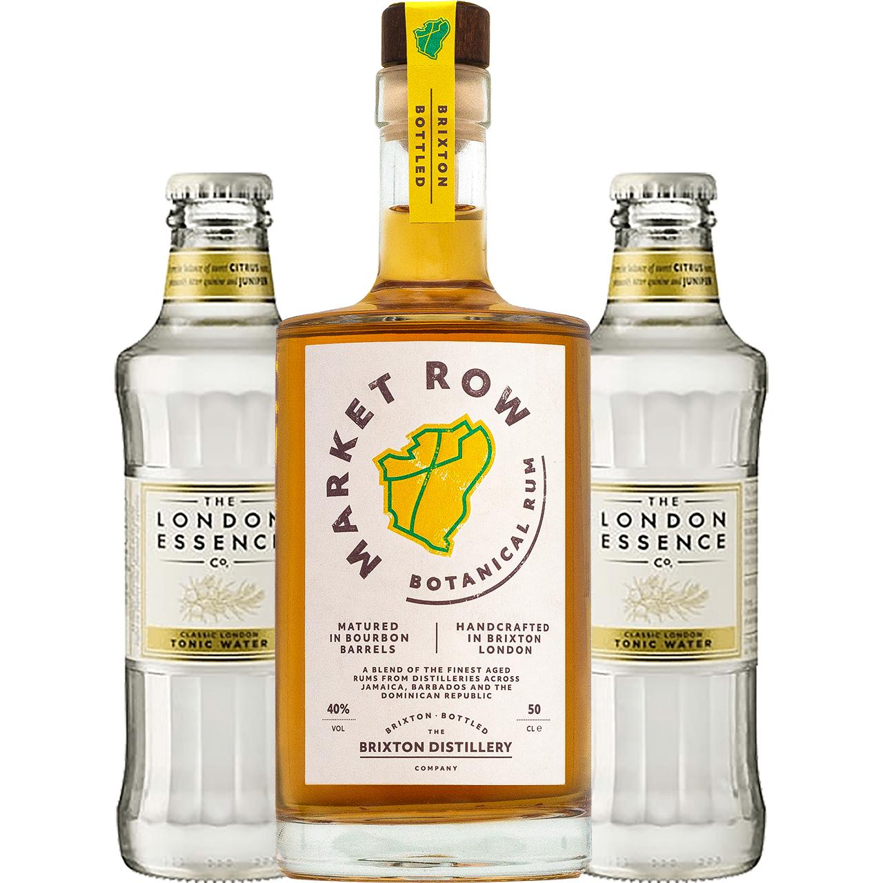 Product Image - Market Row Botanical Rum + 2 FREE Tonics