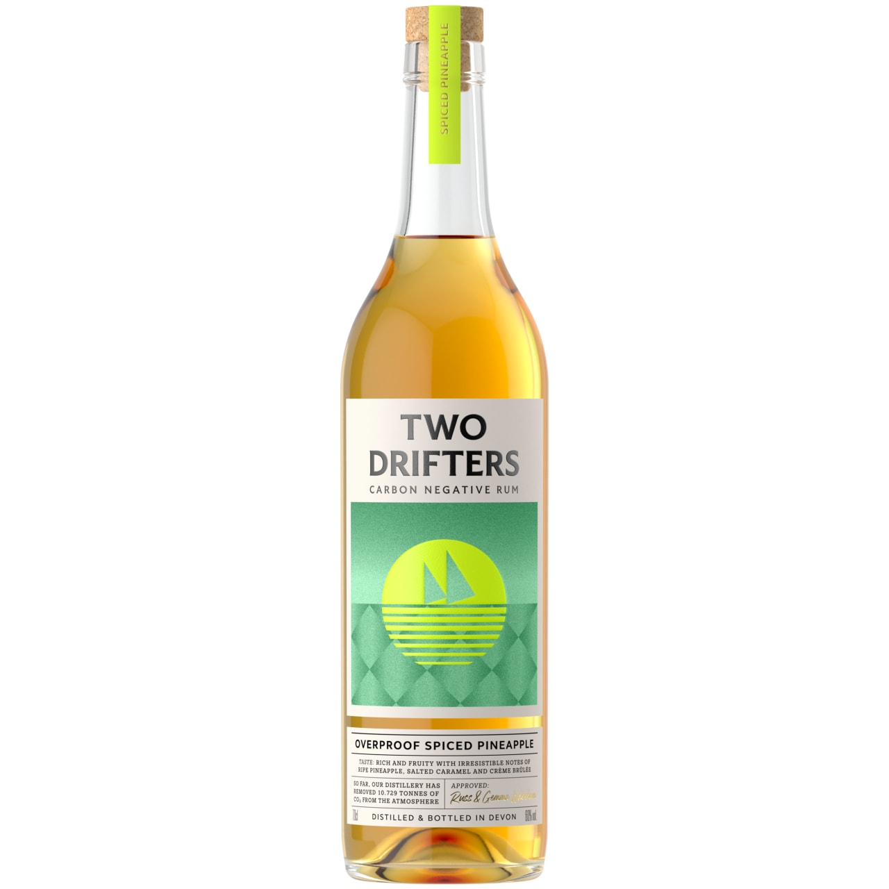 Product Image - Two Drifters Overproof Spiced Pineapple Rum