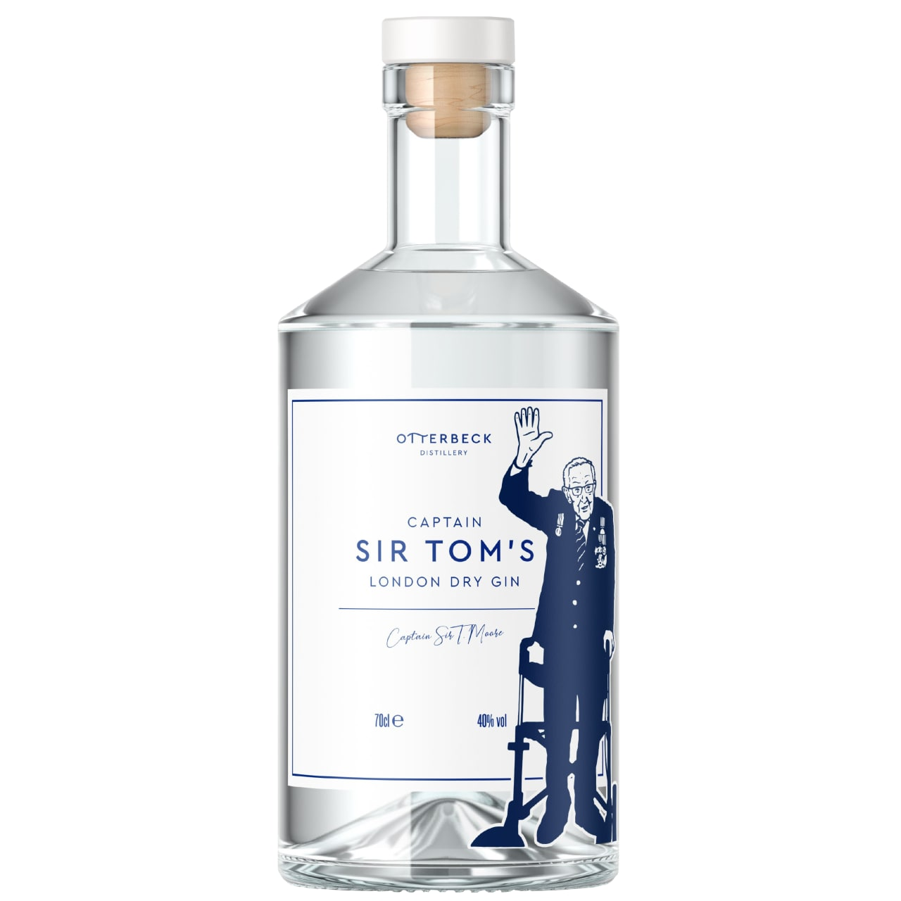 Product Image - Captain Sir Tom's London Dry Gin