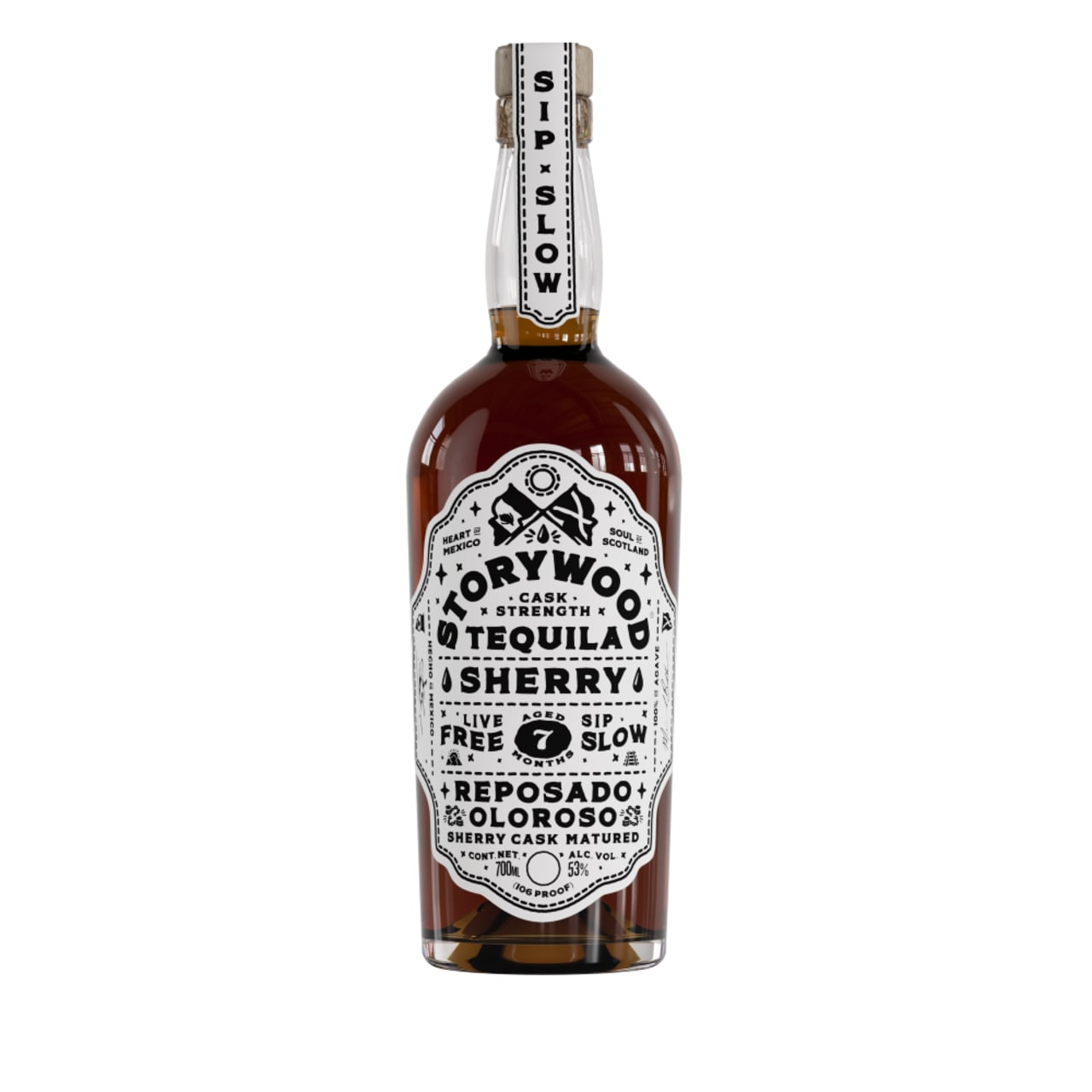 Product Image - Storywood Sherry 7 Cask Strength Tequila
