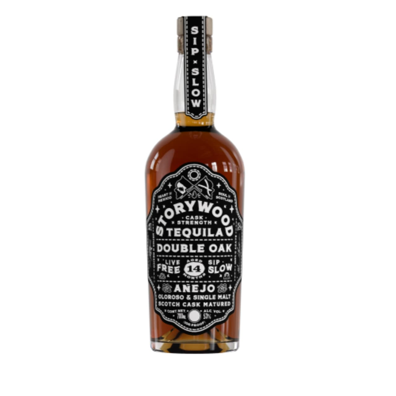 Product Image - Storywood Double Oak Cask Strength Tequila