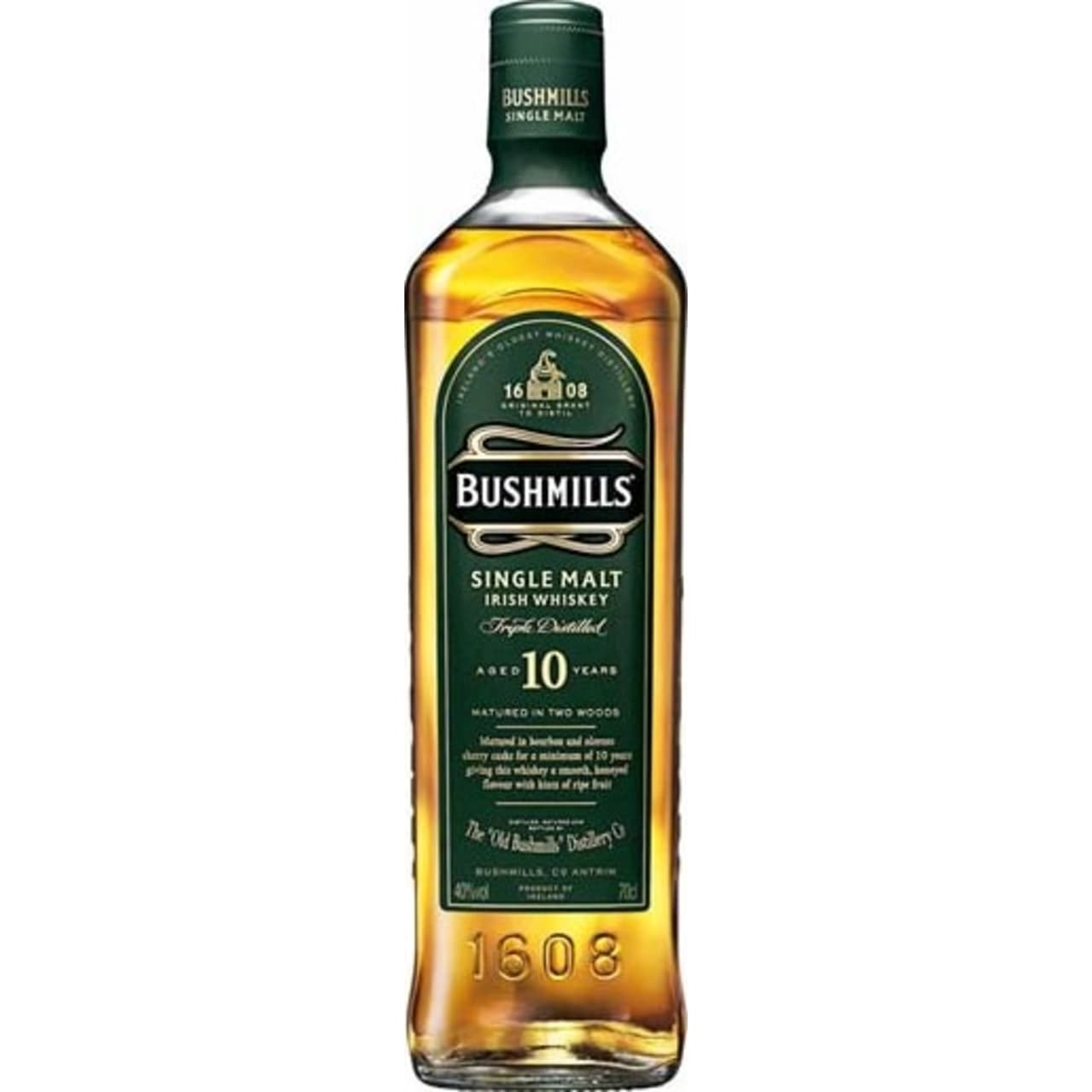 Product Image - Bushmills 10yo Malt Whiskey
