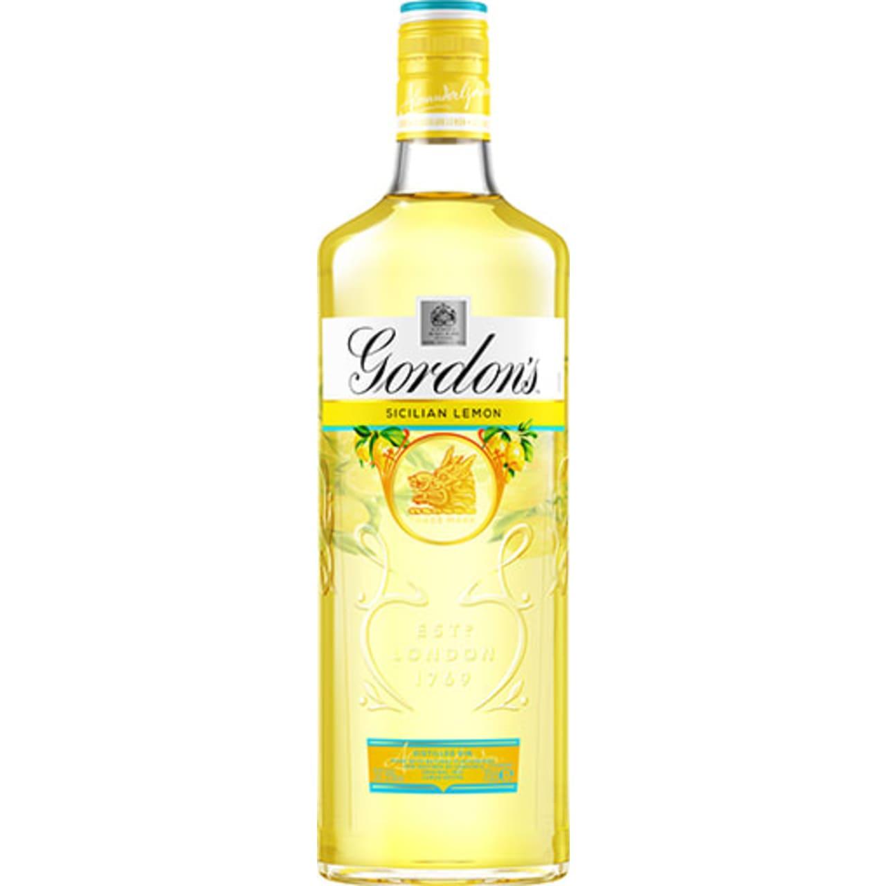 Product Image - Gordon's Sicilian Lemon Gin