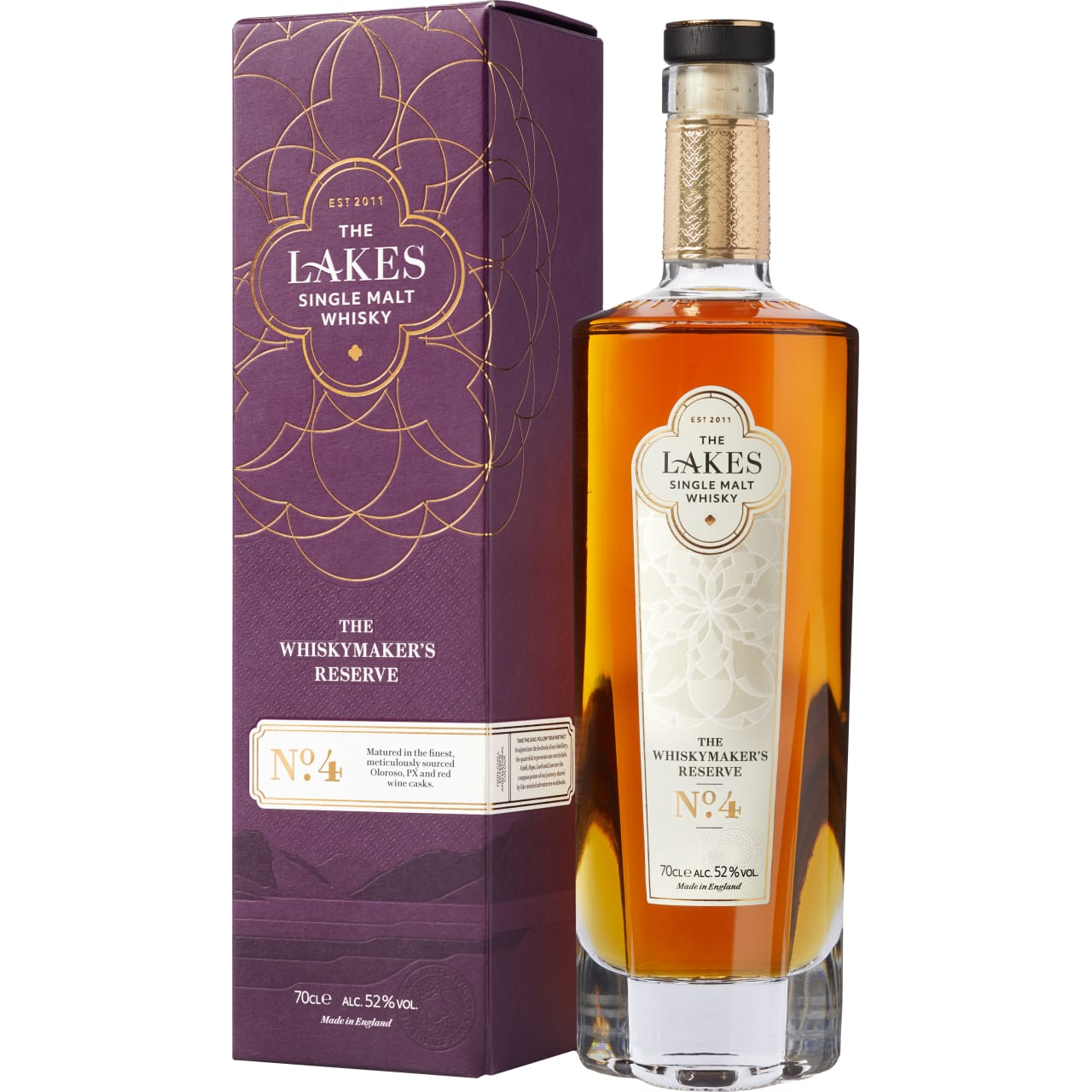 Product Image - The Lakes Single Malt Whiskymaker's Reserve No. 4