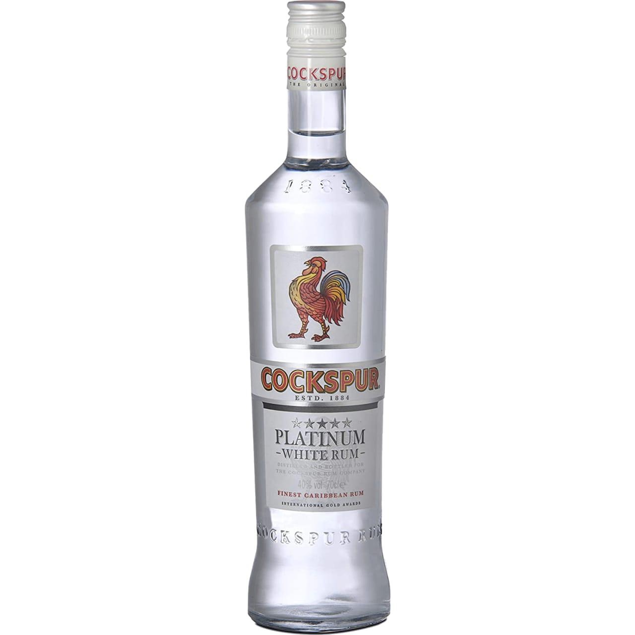 Product Image - Cockspur Platinum White Rum