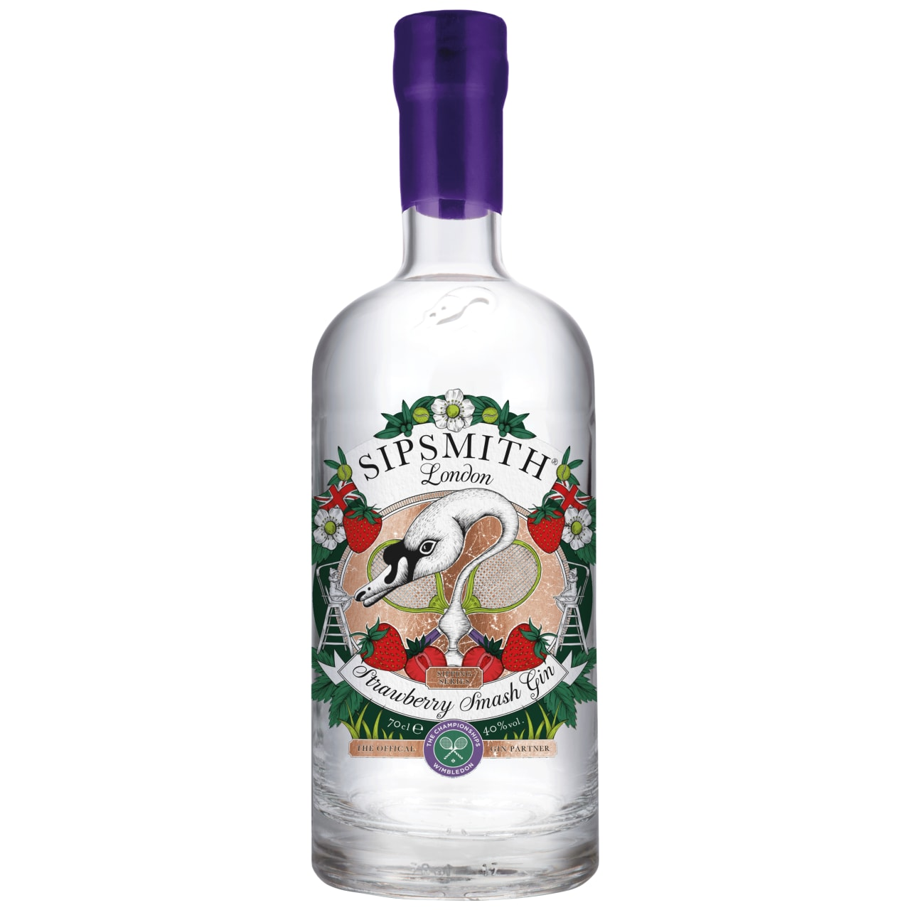 Product Image - Sipsmith Strawberry Smash Gin