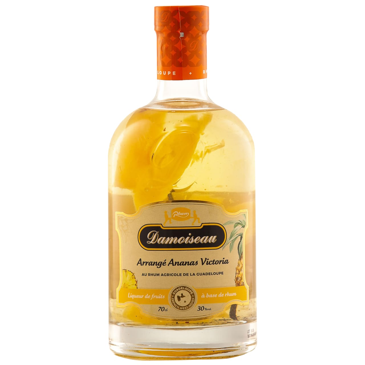 Product Image - Damoiseau Les Arrangés Pineapple & Vanilla Rum