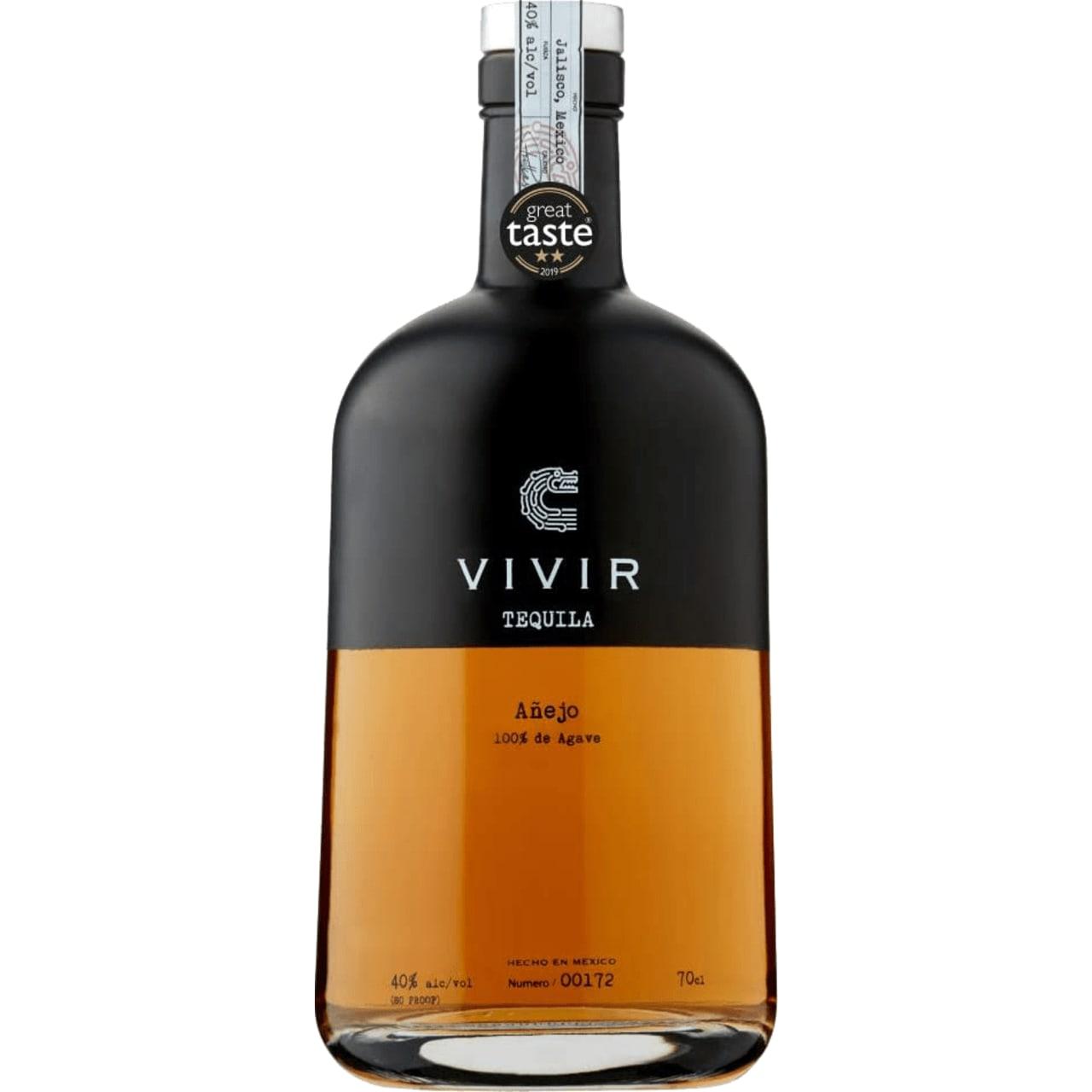 Product Image - Vivir Tequila Añejo
