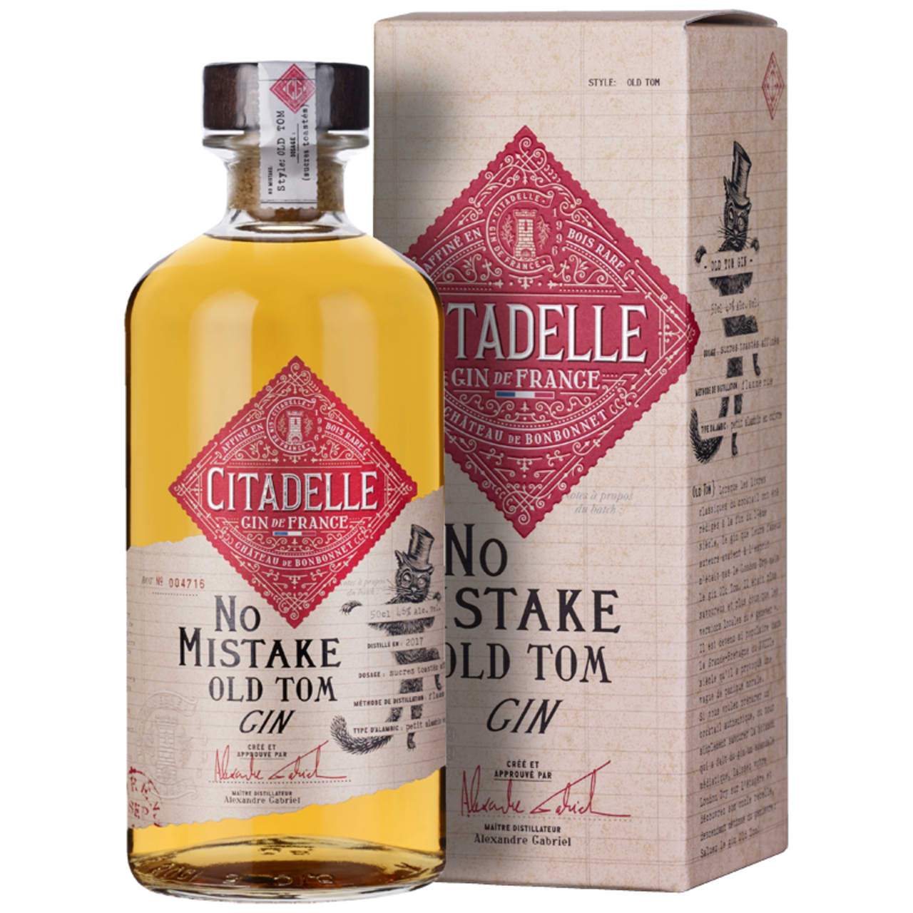 Product Image - Citadelle No Mistake Old Tom Gin