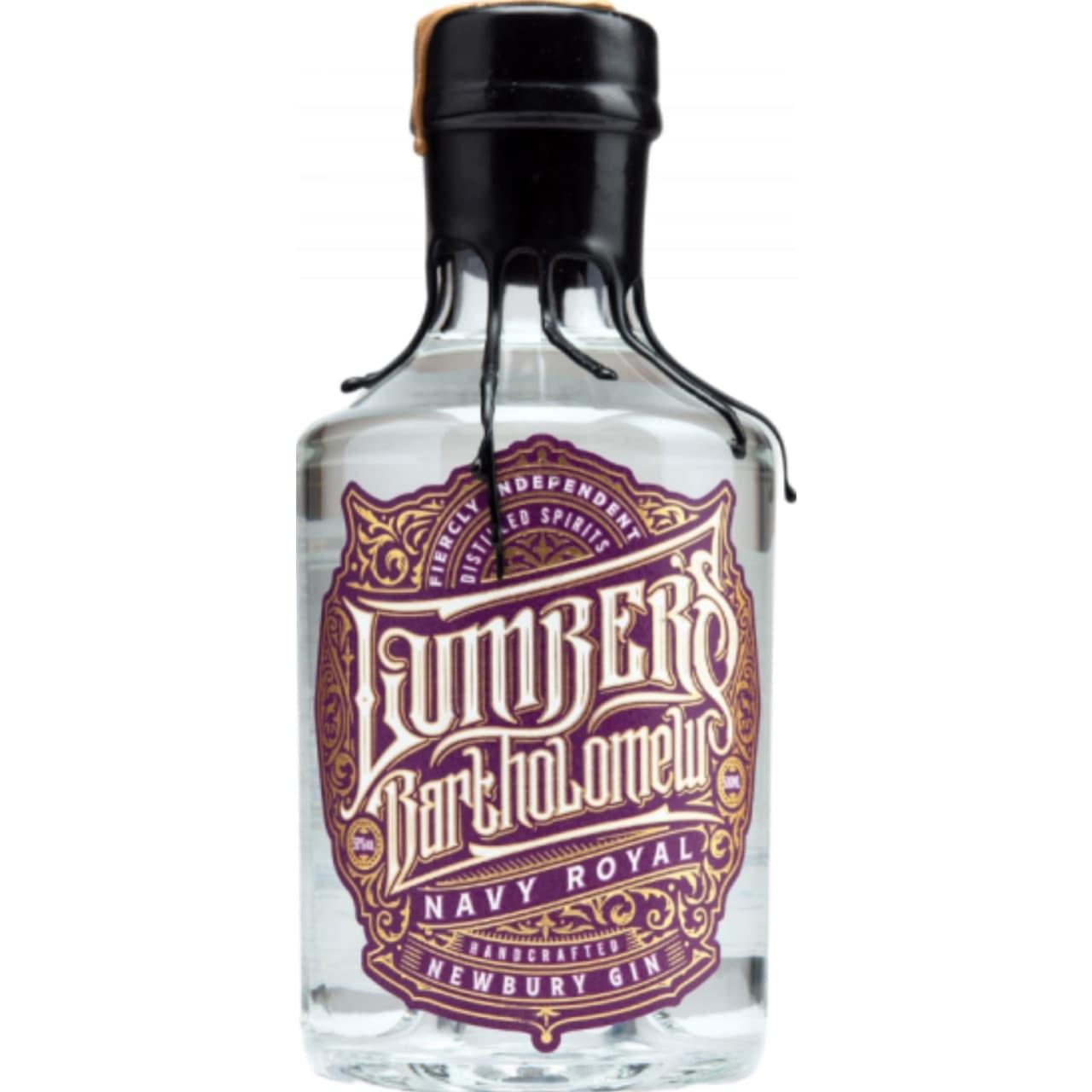Product Image - Lumbers Bartholomew Navy Royal Gin