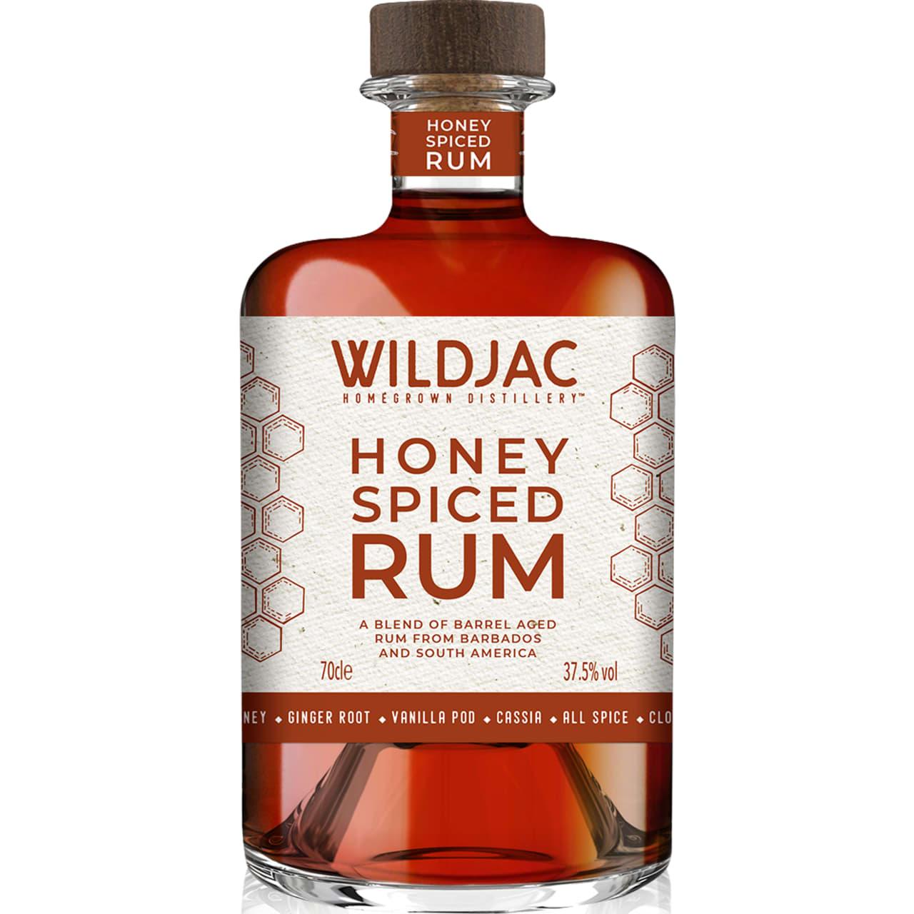 Product Image - Wildjac Honey Spiced Rum