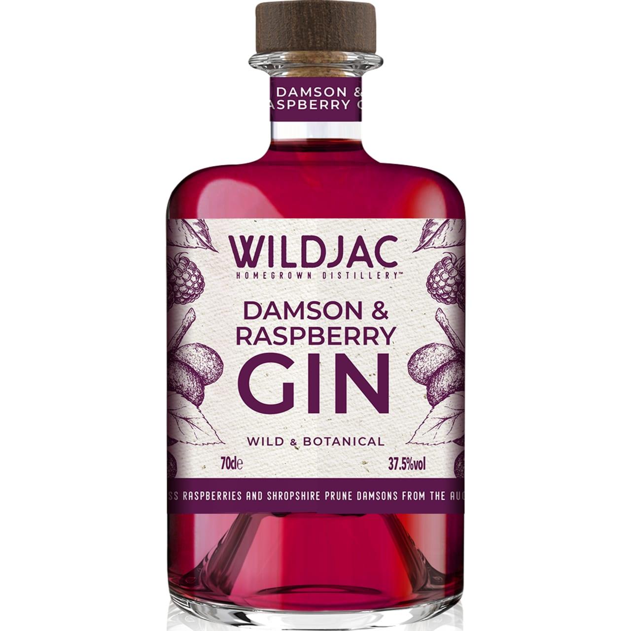 Product Image - Wildjac Damson and Raspberry Gin