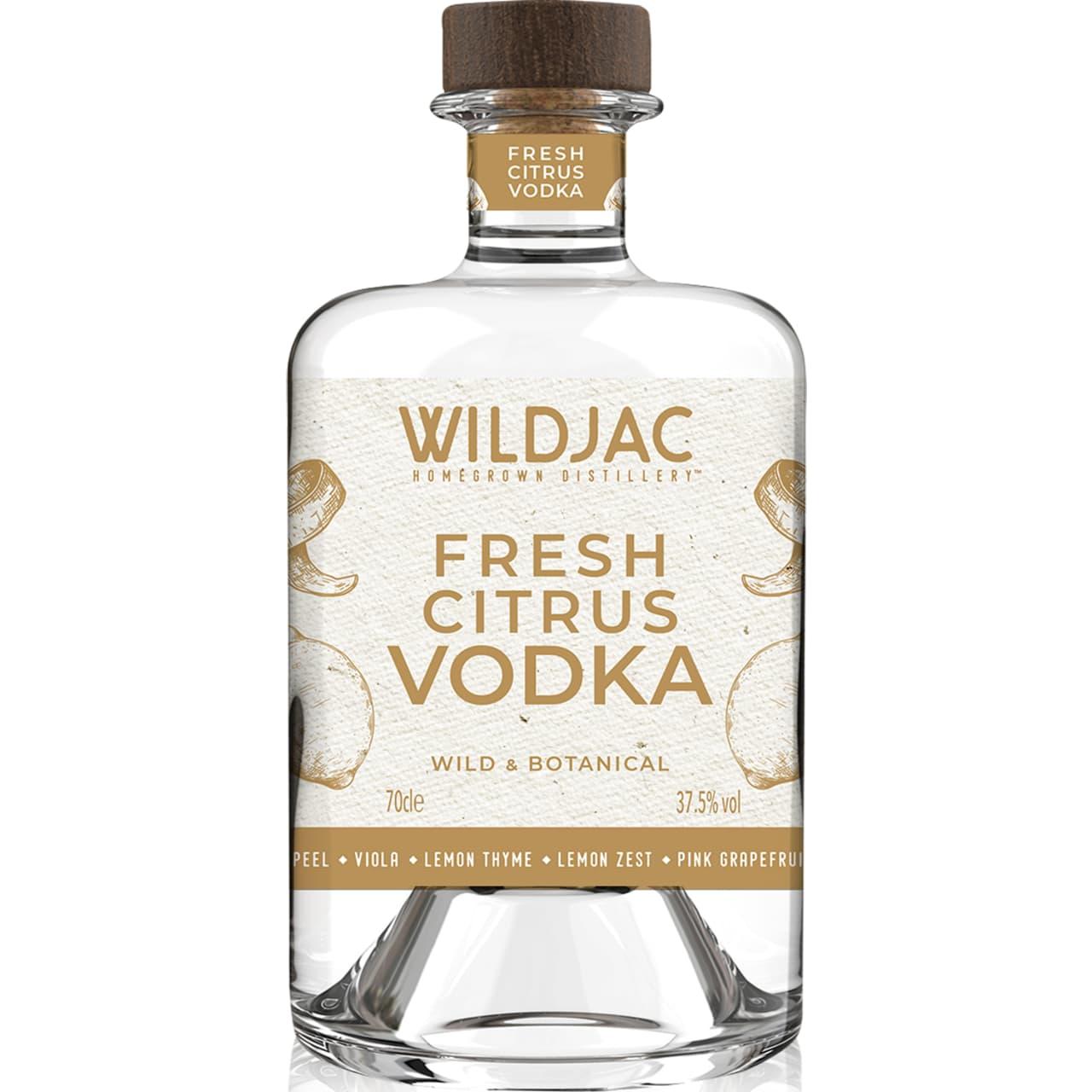 Product Image - Wildjac Fresh Citrus Vodka