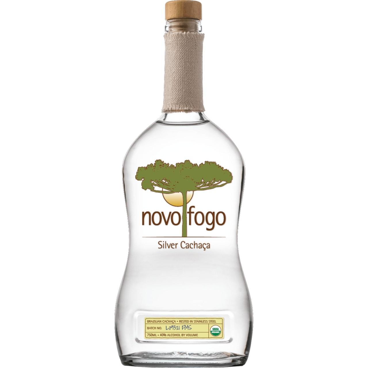 Product Image - Novo Fogo Silver Organic Cachaça