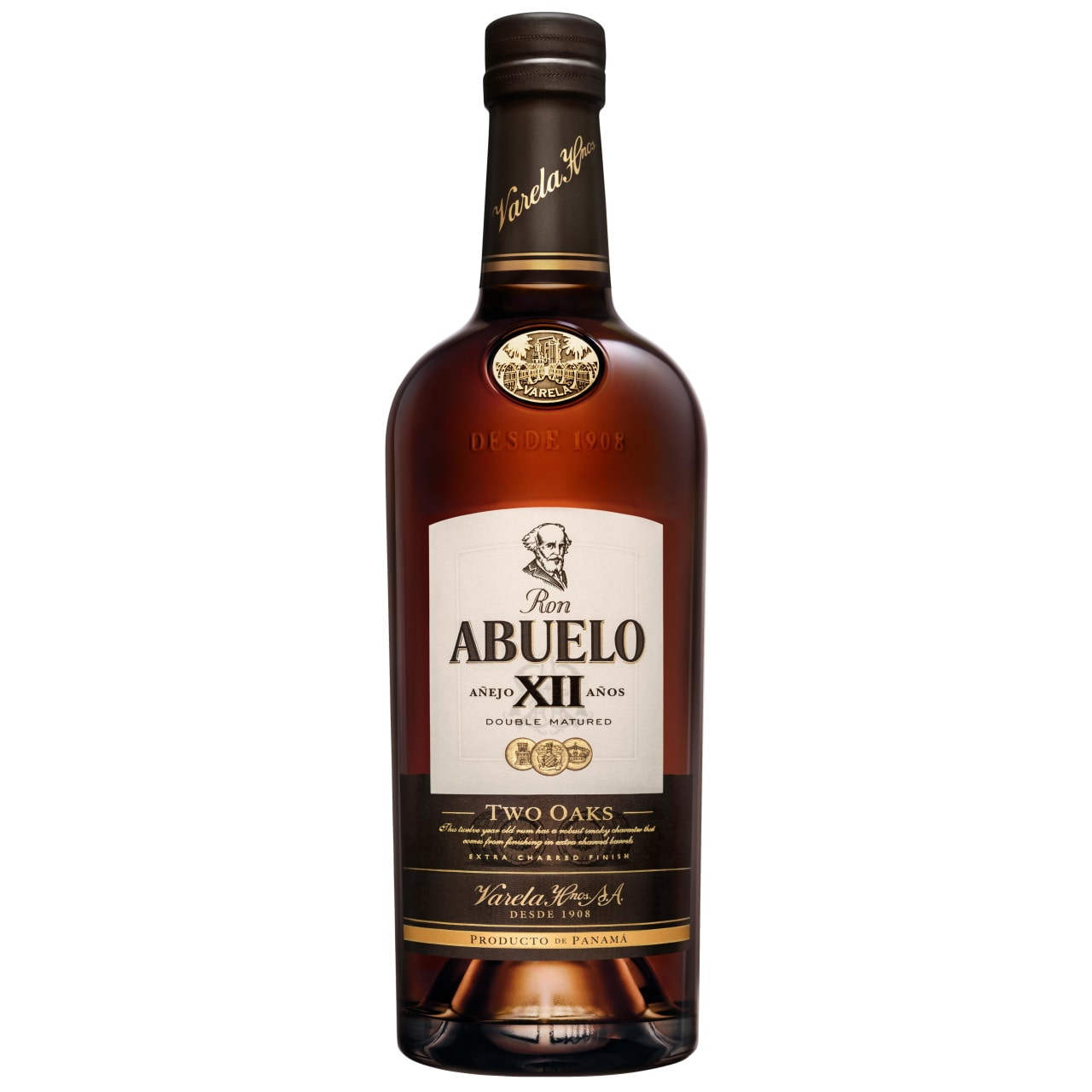 Product Image - Ron Abuelo 12 Year Two Oaks Rum
