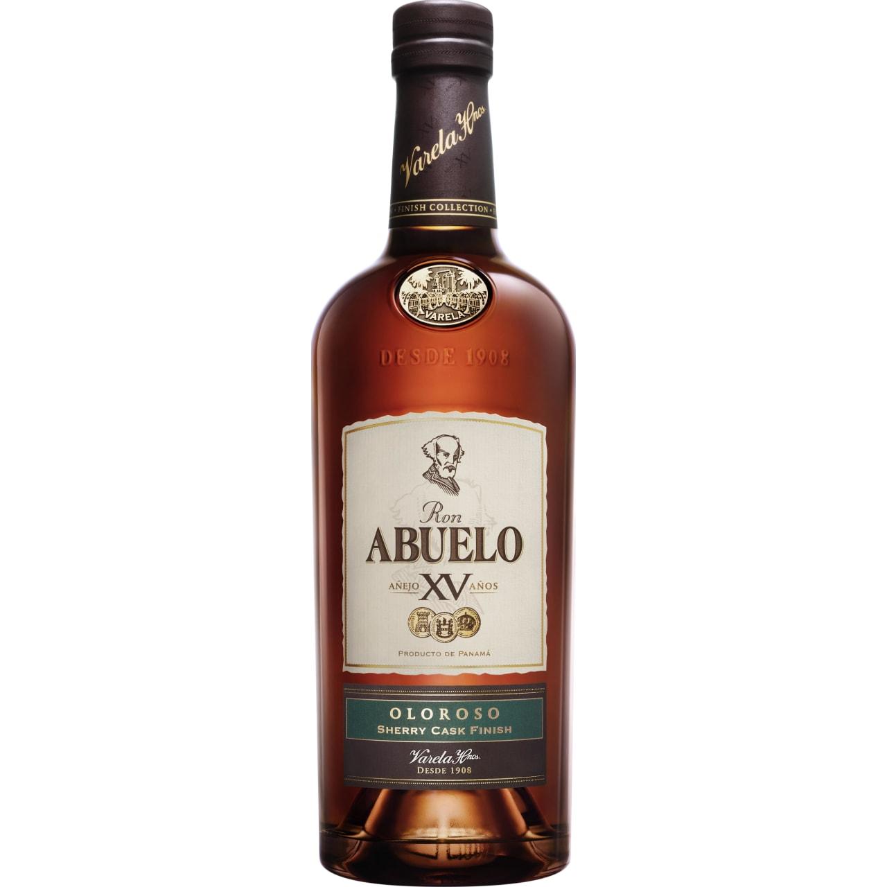 Product Image - Ron Abuelo XV Oloroso Sherry Cask Finish Rum