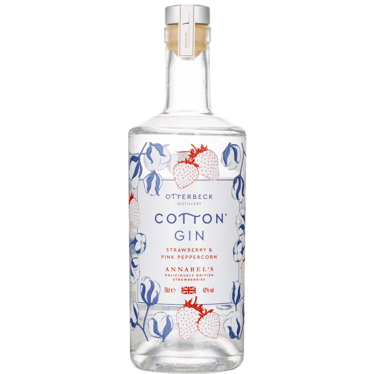 Product Image - Cotton Strawberry & Pink Peppercorn Gin