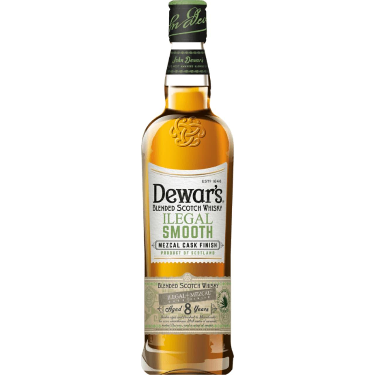 Product Image - Dewar's Ilegal Smooth Mezcal Finish Whisky