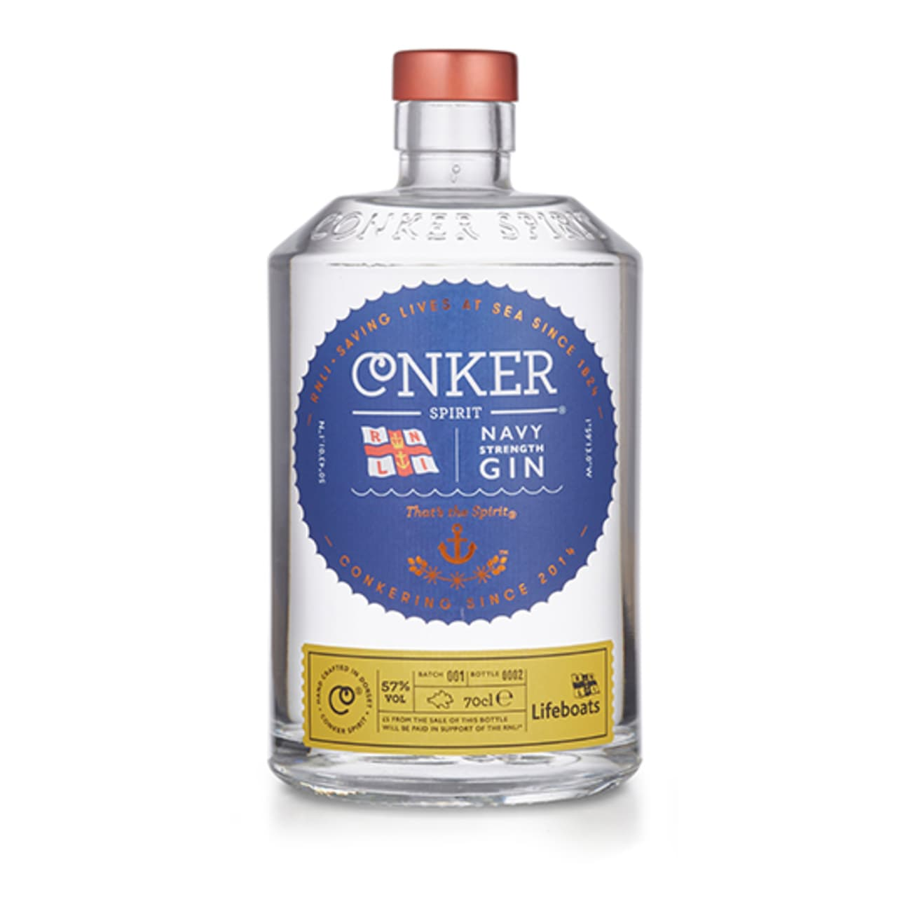 Product Image - Conker RNLI Navy Strength Gin