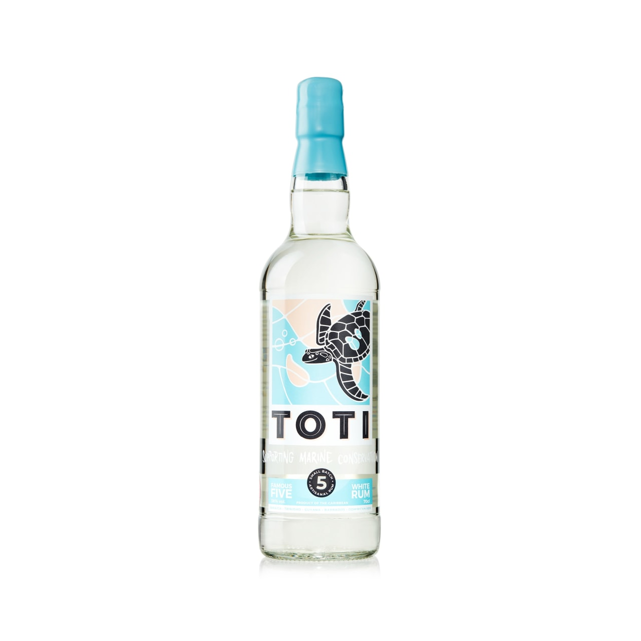 Product Image - Toti Famous Five White Rum