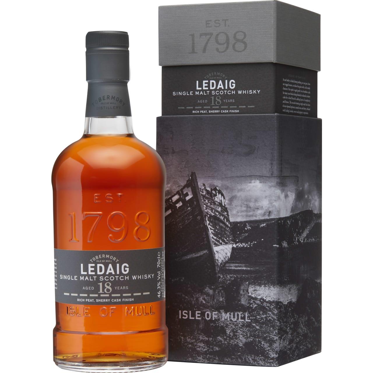 Product Image - Ledaig 18yo Whisky
