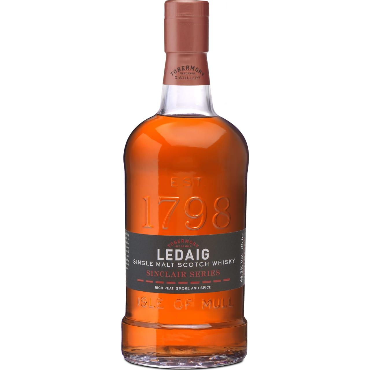 Product Image - Ledaig Singclair Series Rioja Finish Whisky