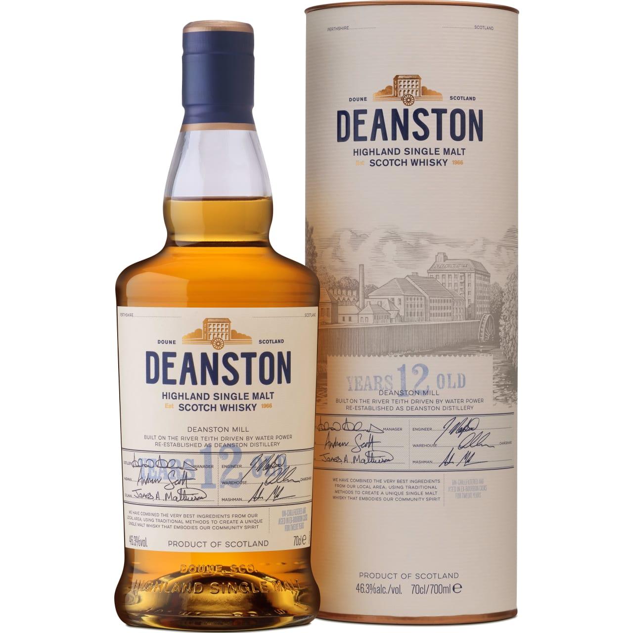 Product Image - Deanston 12yo Whisky