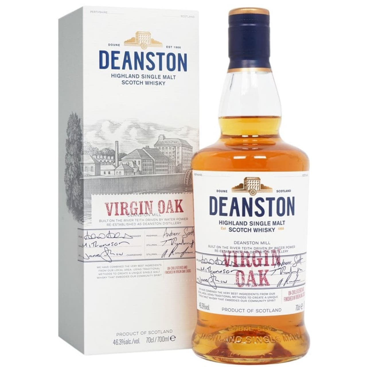 Product Image - Deanston Virgin Oak Whisky
