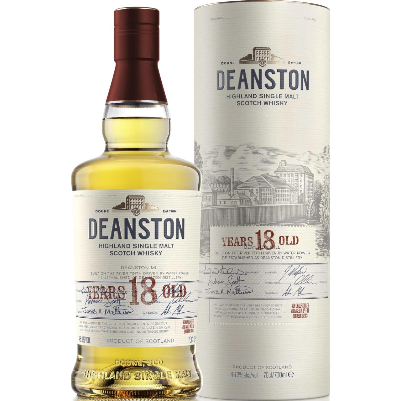 Product Image - Deanston 18yo Whisky