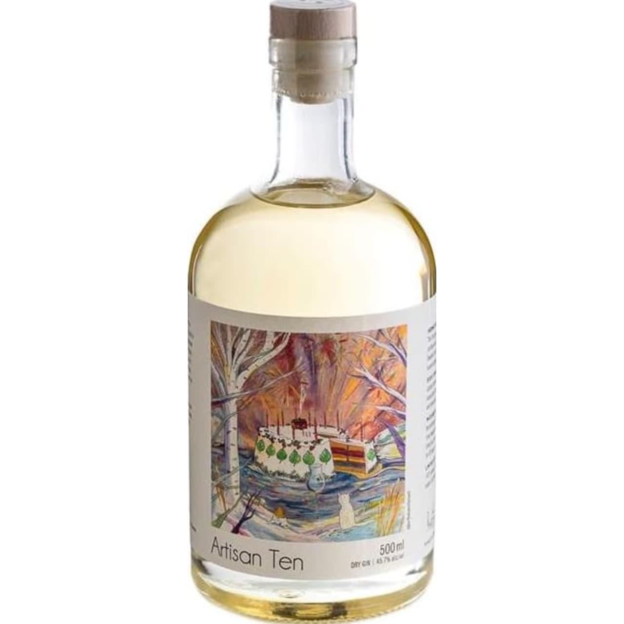 Product Image - Hernö Artisan Ten Organic Gin