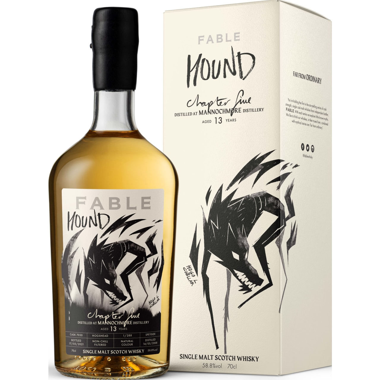 Product Image - Fable Chapter 5 Hound, Mannochmore 12yo Whisky