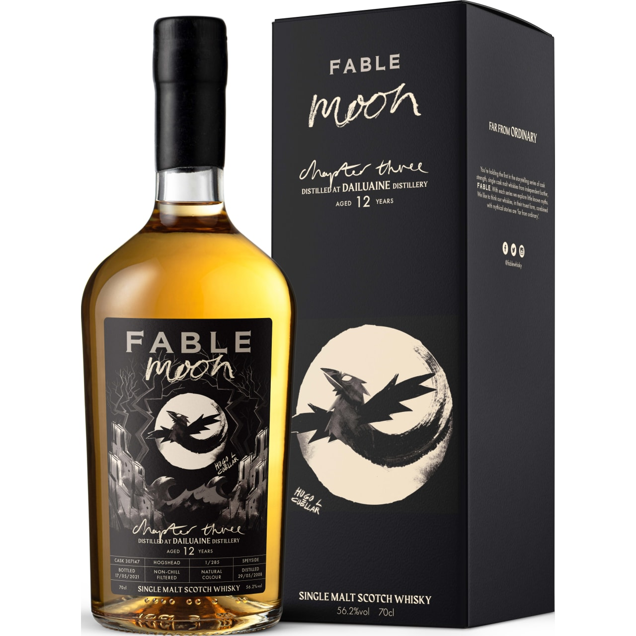 Product Image - Fable Chapter 3 Moon, Dailuaine 12yo Whisky