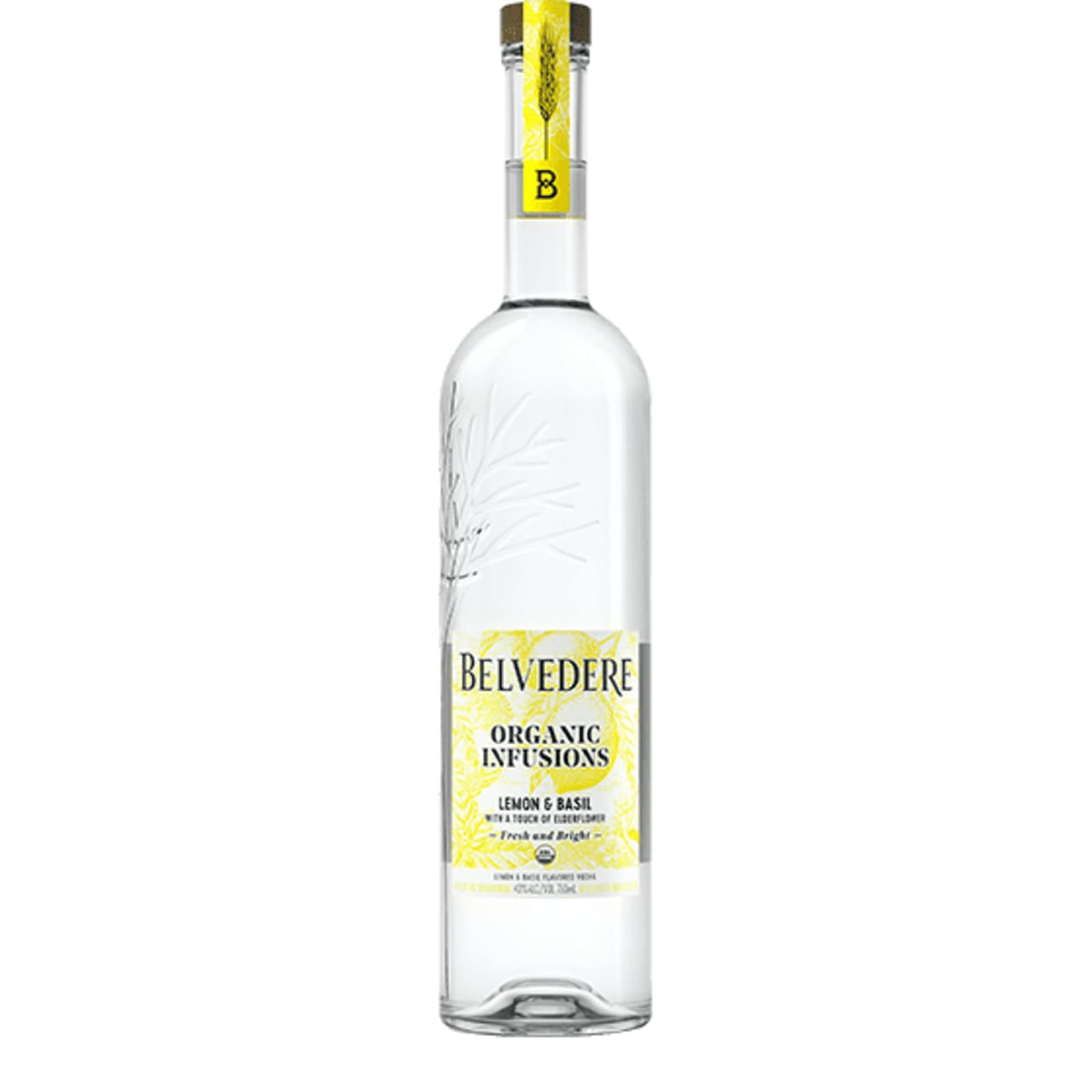 Product Image - Belvedere Organic Infusions Lemon and Basil