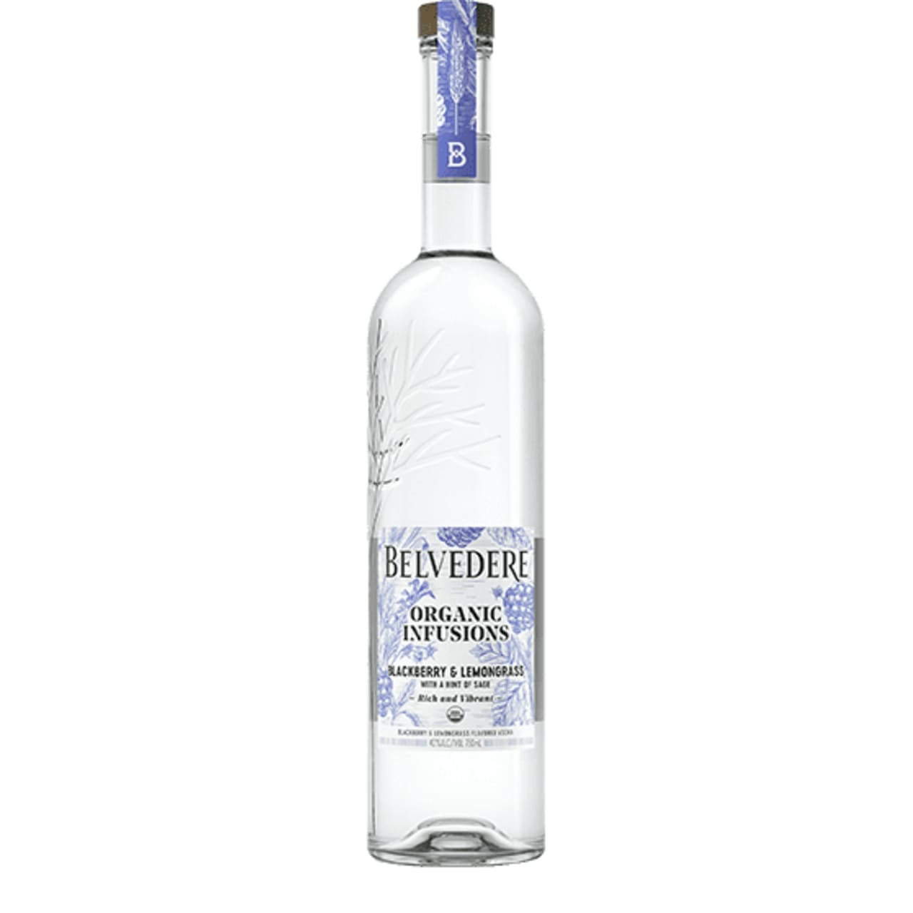Product Image - Belvedere Organic Infusions Blackberry and Lemongrass