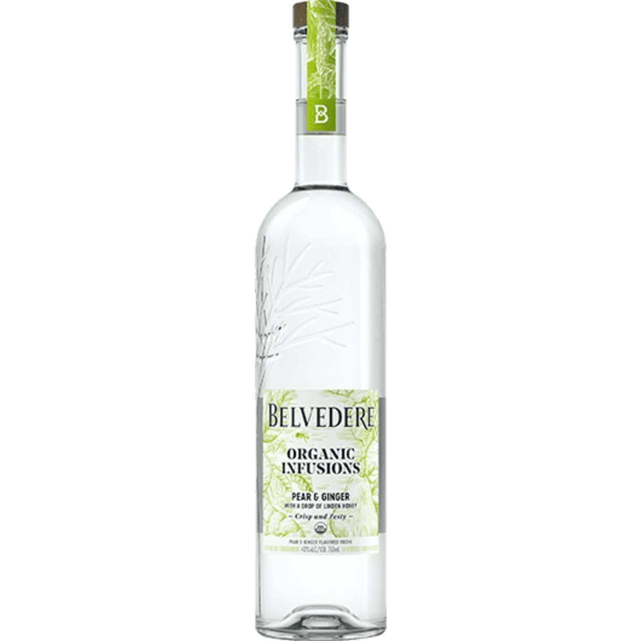 Product Image - Belvedere Organic Infusions Pear and Ginger