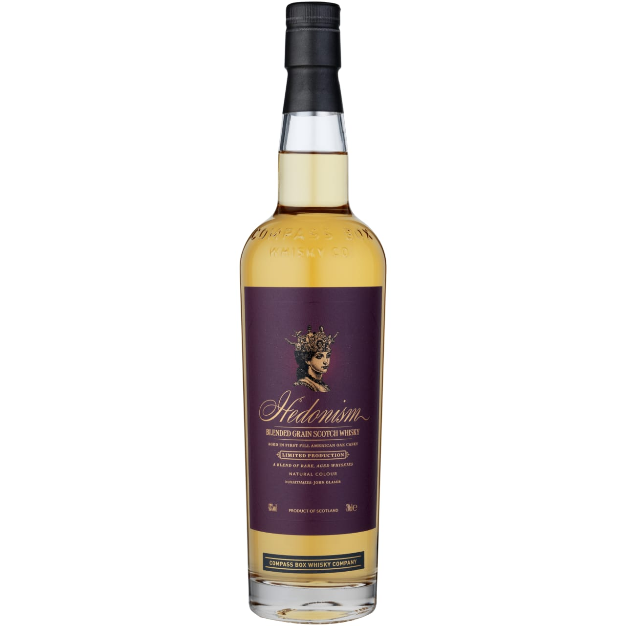 Product Image - Compass Box Hedonism Grain Whisky
