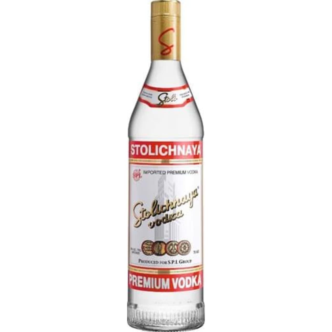 Product Image - Stolichnaya Red Label Vodka