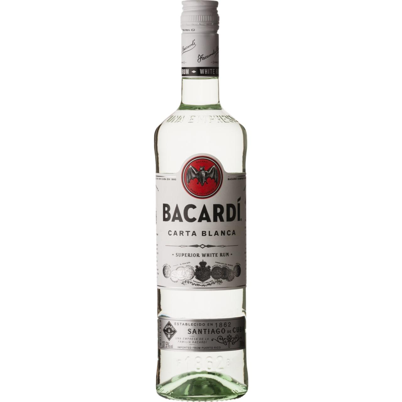 Product Image - Bacardi Carta Blanca Rum