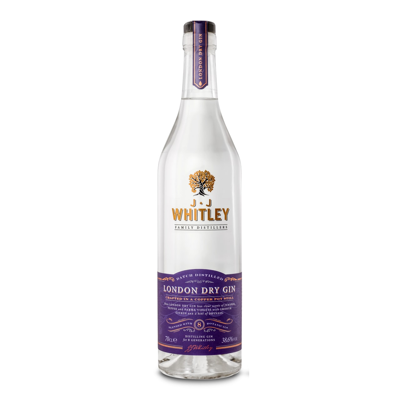 Product Image - JJ Whitley London Dry Gin