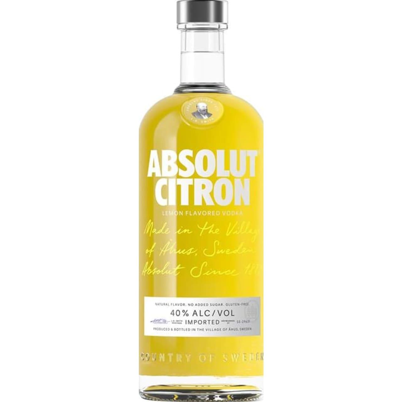 Product Image - Absolut Citron Vodka