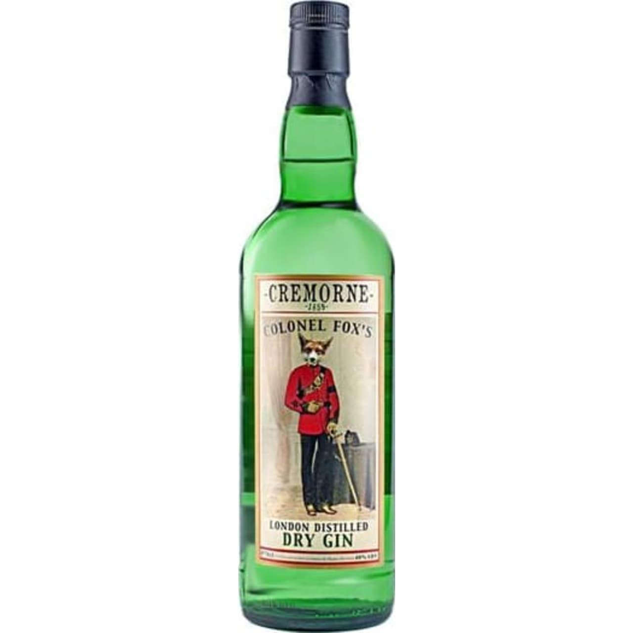 Product Image - Cremorne 1859 Colonel Fox's Gin