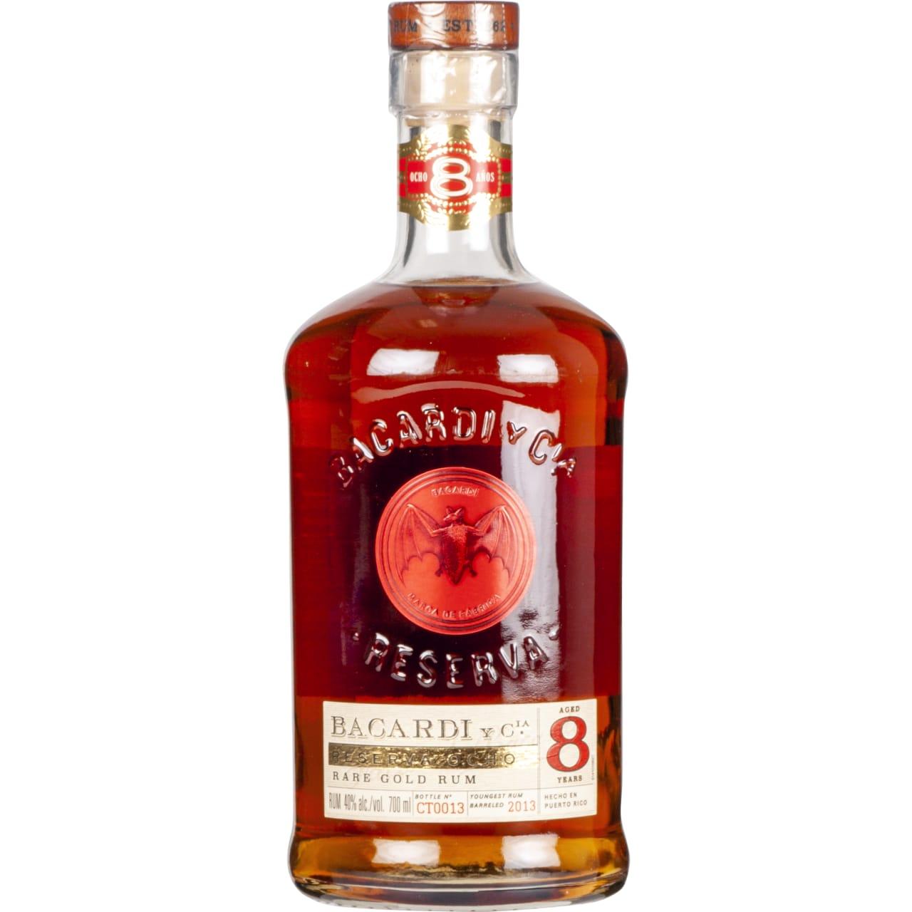 Product Image - Bacardi Ocho Años Rum