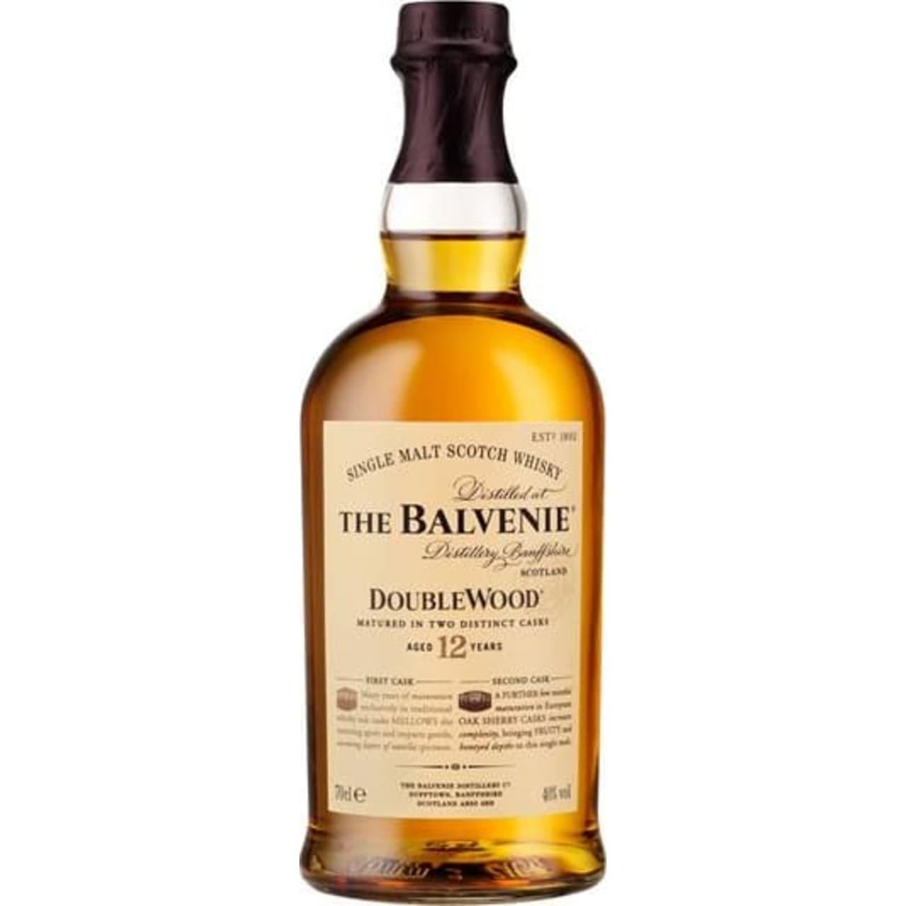 Product Image - The Balvenie 12yo Doublewood Single Malt