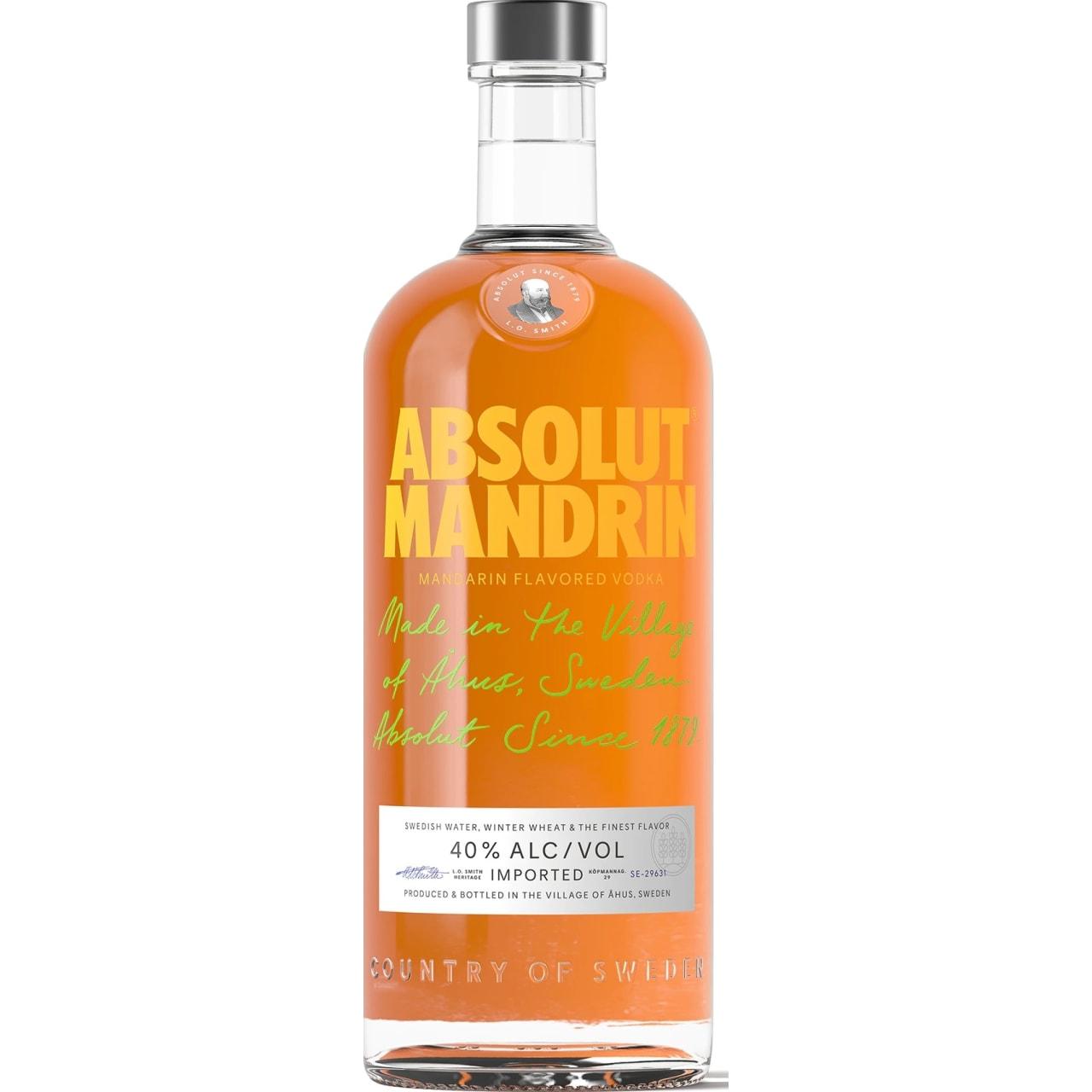 Product Image - Absolut Mandrin Vodka