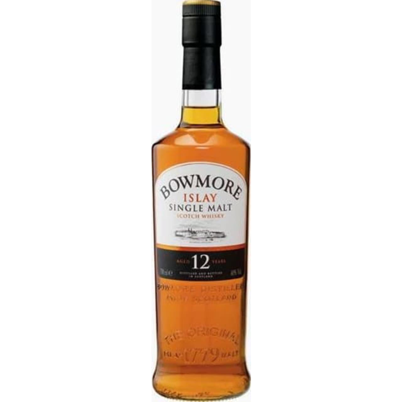 Product Image - Bowmore 12yo Single Malt