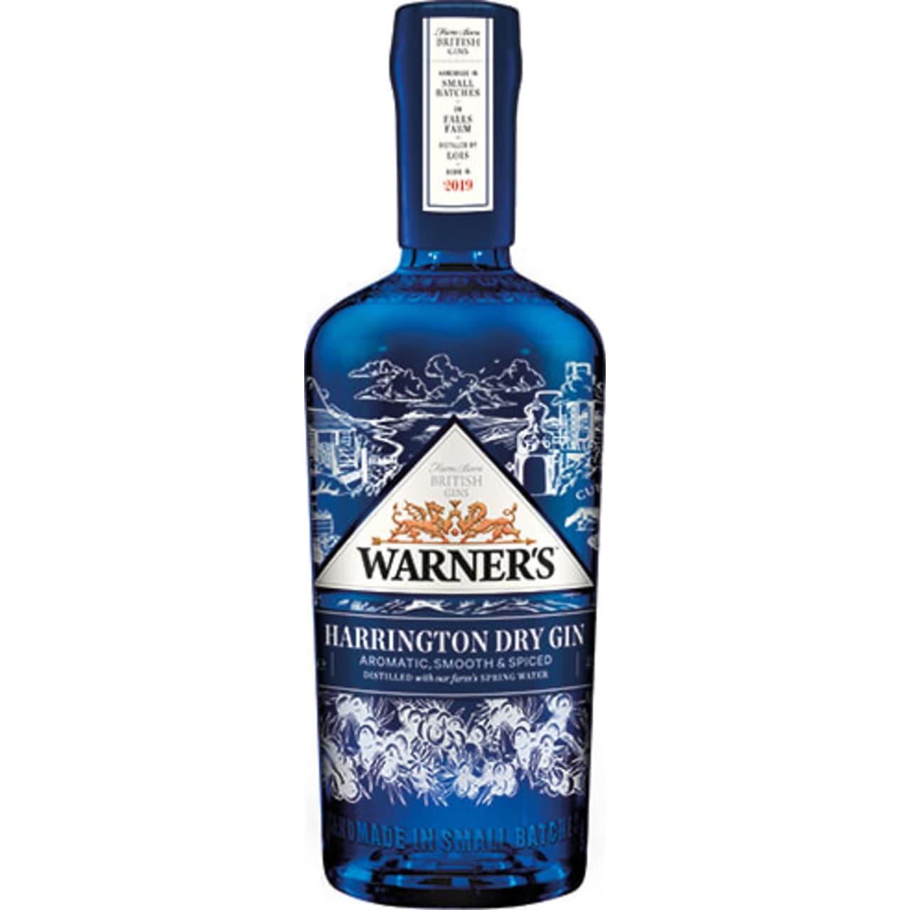 Product Image - Warner's Harrington Dry Gin