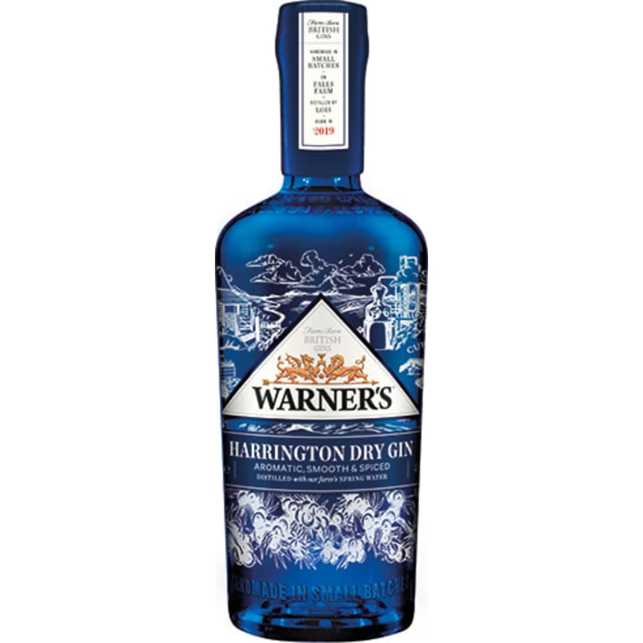 Product Image - Warner's Harrington Dry Gin
