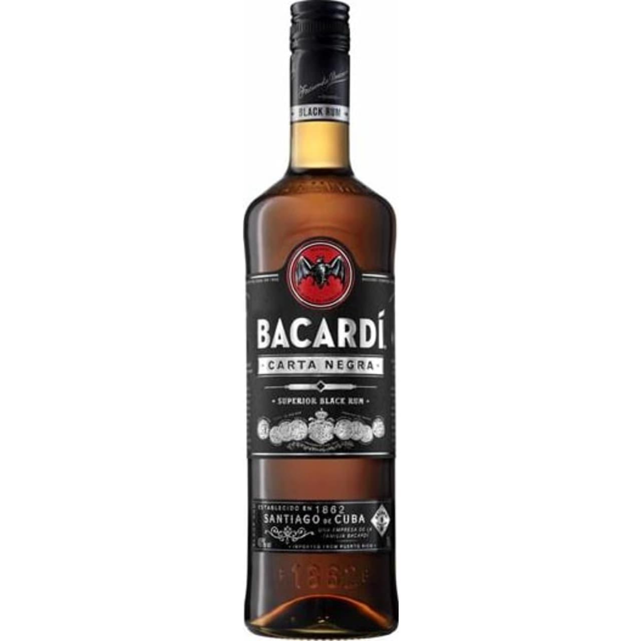 Product Image - Bacardi Carta Negra Rum