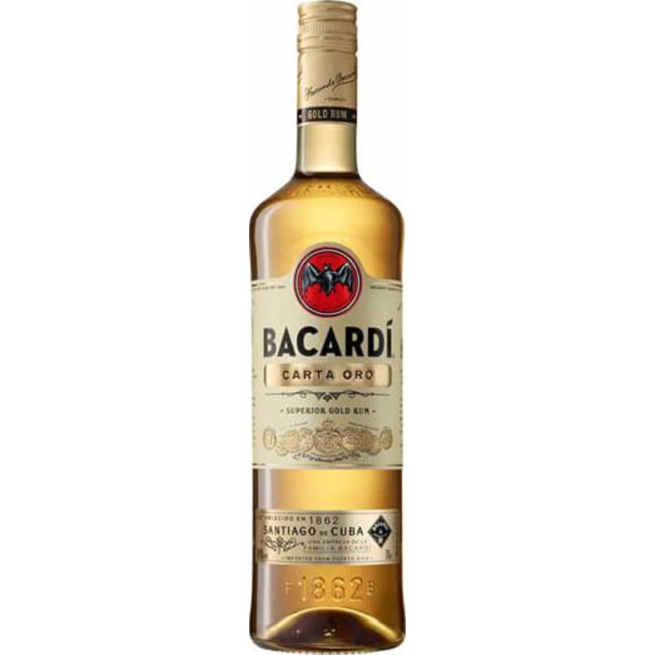 Product Image - Bacardi Carta Oro Rum